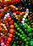 Neklace Balls  Royalty Free Stock Photography