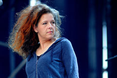 Neko Case, American singer-songwriter, performs at Heineken Primavera Sound 2013 Festival Stock Photo