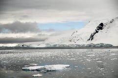 Neko Harbour Area - Antarctic. A scene of the Antarctic shores around Neko Harbour Royalty Free Stock Photography
