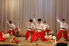 Nekrasov cossacs Royalty-vrije Stock Afbeeldingen