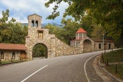 Nekresi-Kloster, Georgia lizenzfreie stockfotografie