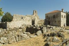Nekromantio Preveza Grecia antica Immagine Stock