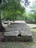 Nekropolia de Arginetako, Elorrio (país vasco) Imagen de archivo libre de regalías