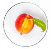 Nektarinefrucht Stockfotos
