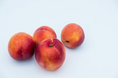 Nektarinen und Pfirsiche Lizenzfreies Stockbild