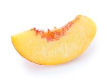nektaryna owocowy plasterek Fotografia Stock
