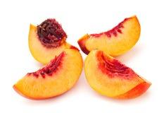 Nektaryny brzoskwini rodziny owoc Obraz Royalty Free