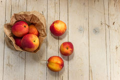 nektaryny zdrowe jeść Zdjęcie Stock