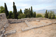 Nekyomanteion near Ephyra, Greece Royalty Free Stock Photography