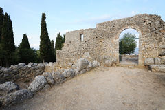 Nekyomanteion near Ephyra, Greece Stock Image