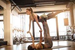 Nel balletto avete bisogno del partner Immagini Stock Libere da Diritti