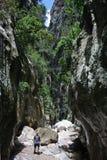 Nel canyon Fotografia Stock Libera da Diritti