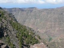 Nel canyon Immagini Stock