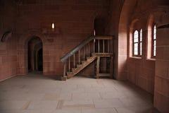 Nel castello Fotografie Stock Libere da Diritti