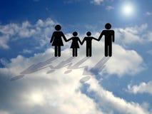 Nel cielo? Fotografia Stock Libera da Diritti