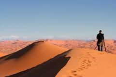Nel deserto Fotografie Stock Libere da Diritti
