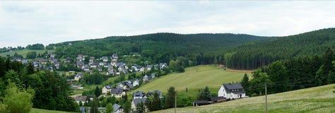 Nel Erzgebirge, la Germania Fotografie Stock