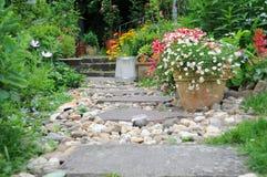Nel giardino di estate Fotografia Stock Libera da Diritti