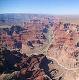 Nel grande canyon Immagini Stock