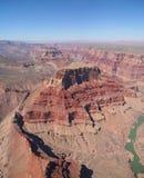 Nel grande canyon Fotografia Stock Libera da Diritti