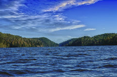 Nel lago Immagine Stock Libera da Diritti