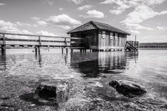 Nel lago Fotografie Stock
