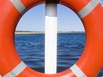 Nel mare Immagini Stock