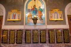 Nel mare Nicholas Cathedral Fotografia Stock