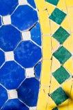 nel Marocco colorated il pavimento ceramico Fotografia Stock Libera da Diritti