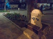 Nel monastero di St George nel Pomorie bulgaro Immagini Stock Libere da Diritti