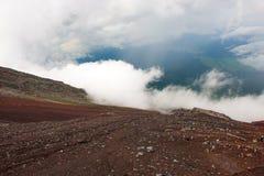 nel parco provinciale di Mt fuji Fotografia Stock