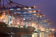 Nel porto Fotografia Stock Libera da Diritti