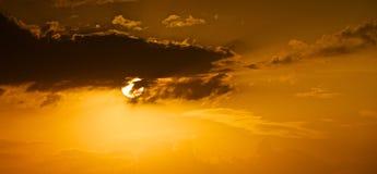Nel potere delle nuvole. Fotografia Stock Libera da Diritti