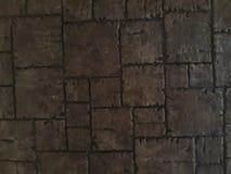 Nel vecchio colore marrone legnoso Fotografia Stock