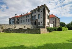 Nelahozeves castle in Czech republic Royalty Free Stock Photography