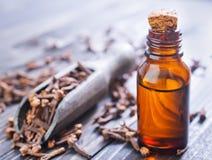 Nelken und Öl Lizenzfreies Stockfoto