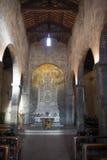Nell'altare della chiesa Immagine Stock Libera da Diritti