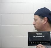 Nell'ambito dell'arresto Fotografia Stock Libera da Diritti
