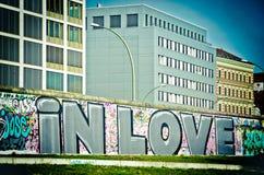 Nell'amore a Berlino Fotografie Stock Libere da Diritti