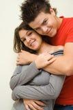 Nell'amore - felicità Immagini Stock Libere da Diritti