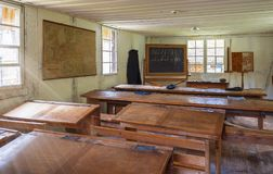 Nell'aula Fotografia Stock