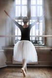 Nell'aula di balletto Fotografia Stock Libera da Diritti