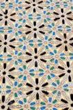 nell'estratto ceramico del pavimento del Marocco Fotografia Stock Libera da Diritti