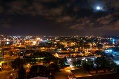 Nell'incandescenza della luna Fotografia Stock Libera da Diritti