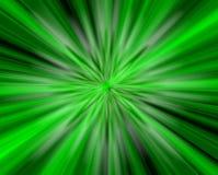 Nell'indicatore luminoso verde Fotografie Stock Libere da Diritti