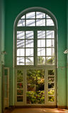 Nell'interno del giardino botanico a St Petersburg Giardino botanico di Komarov Fotografie Stock