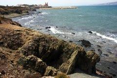 Nell'isola di Tabarca Alicante 6 fotografia stock libera da diritti
