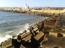 Nell'oceano fotografie stock