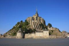Nella baia del Saint Michel di Mont Fotografie Stock