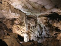Nella caverna Fotografia Stock Libera da Diritti